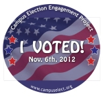I Voted Stickers - CEEP